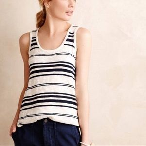 Anthropologie Moth Watermark Tank Top